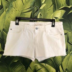 DL1961 LOLA shorts in white